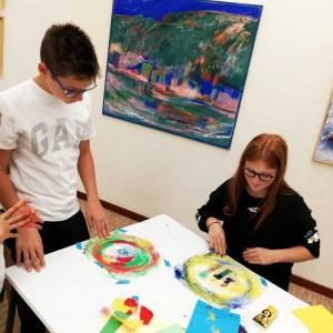 Laboratori per bambini in galleria d'arte