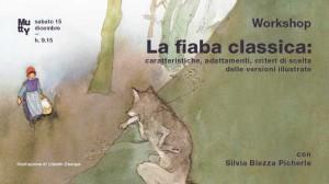 La fiaba classica, workshop con Silvia Blezza Picherle