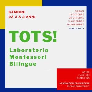 TOTS! Laboratorio Montessori Bilingue