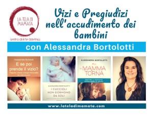 Vizi e pregiudizi nell'accudimento dei bambini, incontro con Alessandra Bortolotti