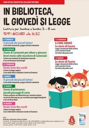 In Biblioteca, il giovedì si legge / Books from the world