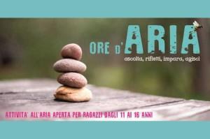 ORE D'ARIA: ascolta, rifletti, impara, agisci