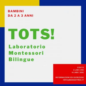 TOTS! Laboratorio Montessori Bilingue